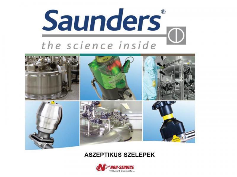 Saunders aszeptikus szelepek